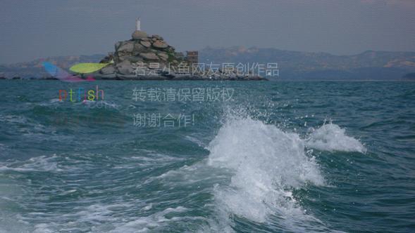 位于平海与鸬鹚岛之间的箭屿,岛尖上