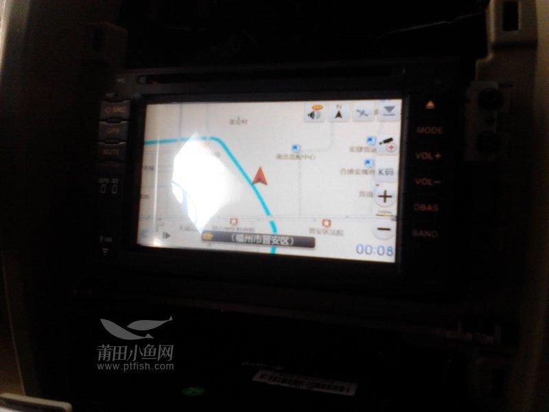 华泰圣达菲改导航 莆田亿和汽车用品批发商高清图片