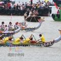 端午节石狮蚶虹的江海上欢乐泼水节