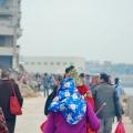 惠安大岞妈祖湄洲进香后巡游