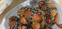 清蒸美味大闸蟹