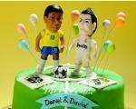 足球蛋糕DIY烘焙