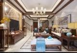 家缘装饰案例 | 220m2正荣·润城——新中式