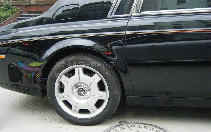 劳斯莱斯双r轮胎 高清图片