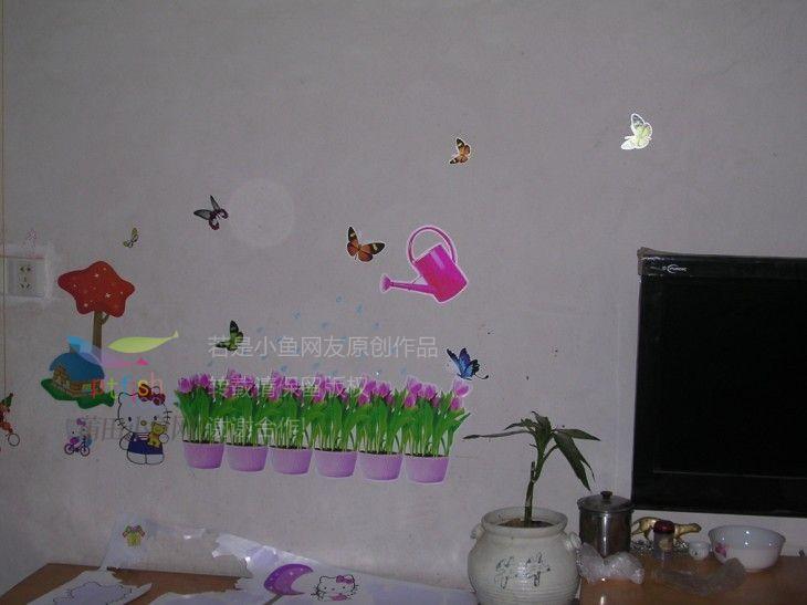 国庆节,上午逛荡一早上,下午陪小孩一起玩贴纸!