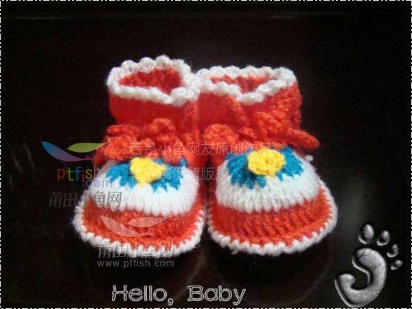 纯手工钩织婴儿鞋,准妈妈可以进来瞧瞧