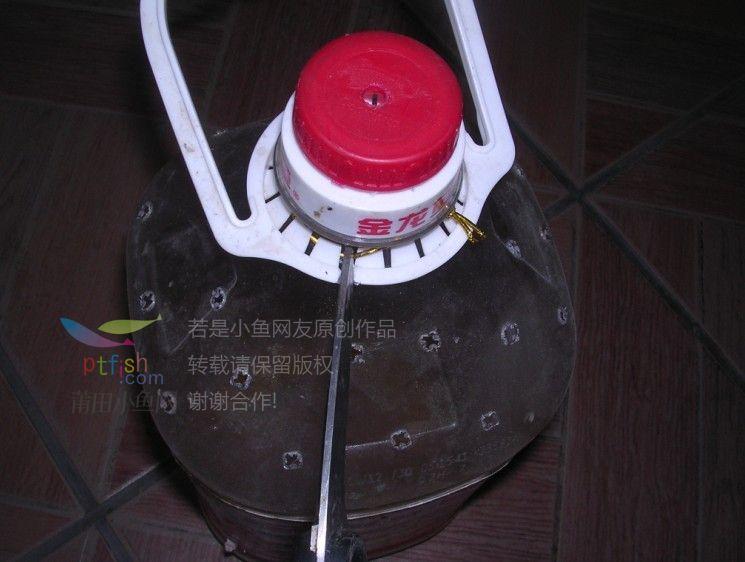手工制作用油桶制作花盆