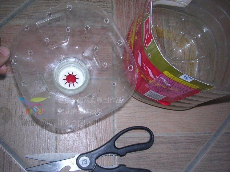 塑料油桶自制花盆