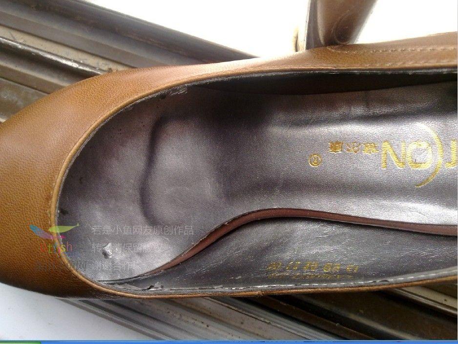 坑爹啊 新买的意尔康鞋子 高清图片