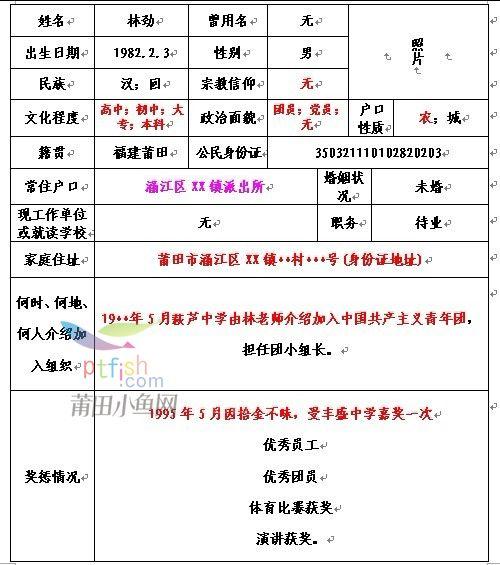 2015国防部征兵政审_征兵政审表-海达范文网