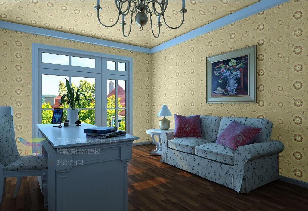 怡宝无缝墙布运用效果图 家居装饰高清图片