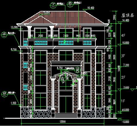 一些乡下别墅设计方案与大家共享