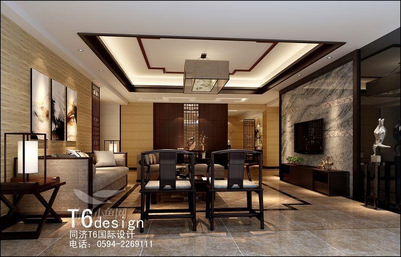 庄重优雅的现代中式装修风格 家居装饰
