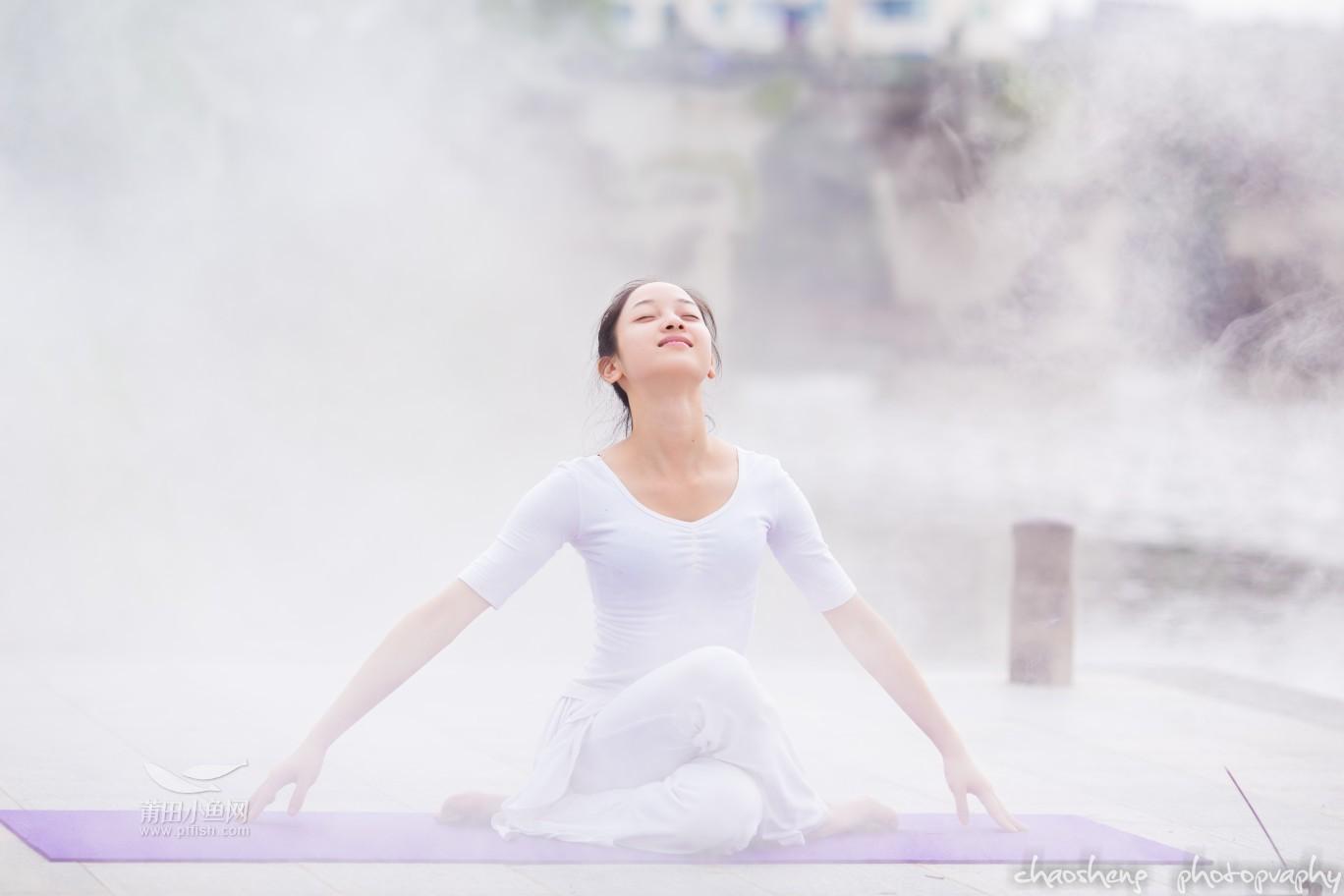 梵我合一 是一种境界 绶溪公园瑜伽篇图片