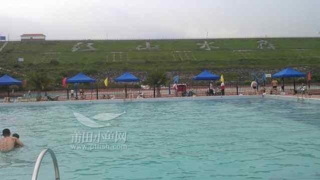 红山水库游泳池,莆田唯一的山泉水游泳池