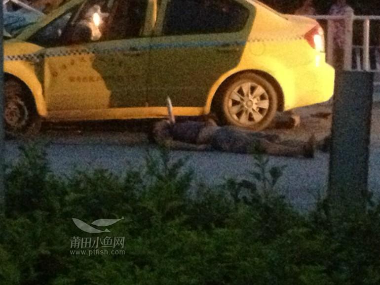 仙游凌晨出租车车祸!