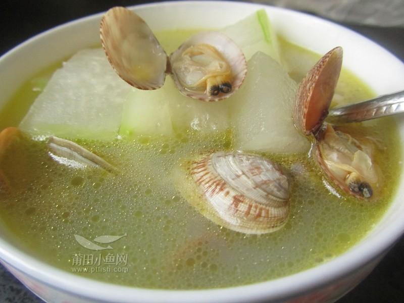 【乐乐*_*下厨】海蛎花蛤汤拌海蜇皮煎冬瓜饼鲫鱼吃饵图片