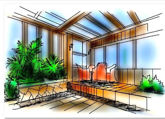 手绘效果图技法是环境艺术设计专业
