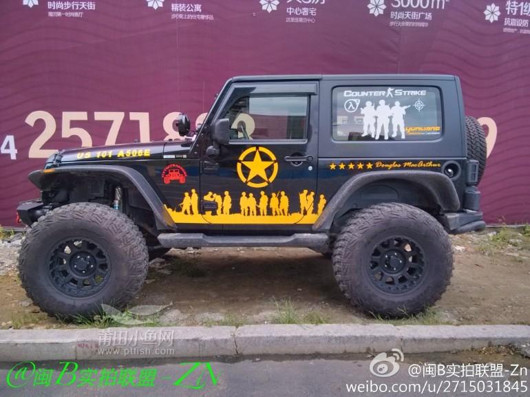 jeep牧马人变身大脚怪!