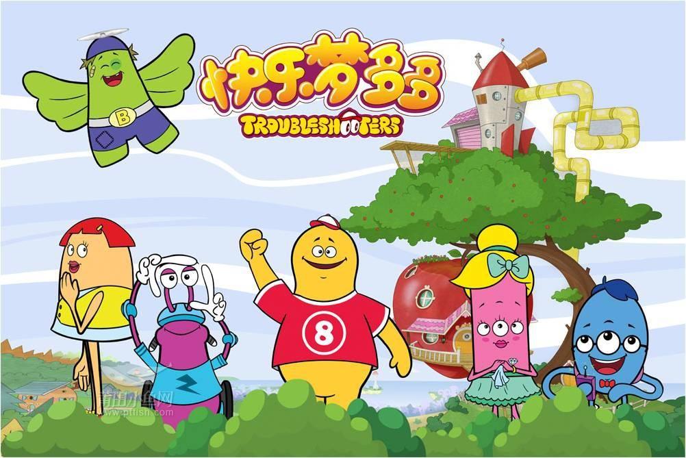 儿童动画片 快乐梦多多 登陆央视少儿频道,