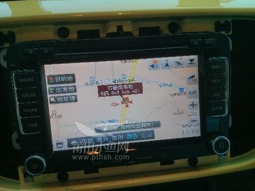 大众甲壳虫加装导航 可视倒车 原厂雷达