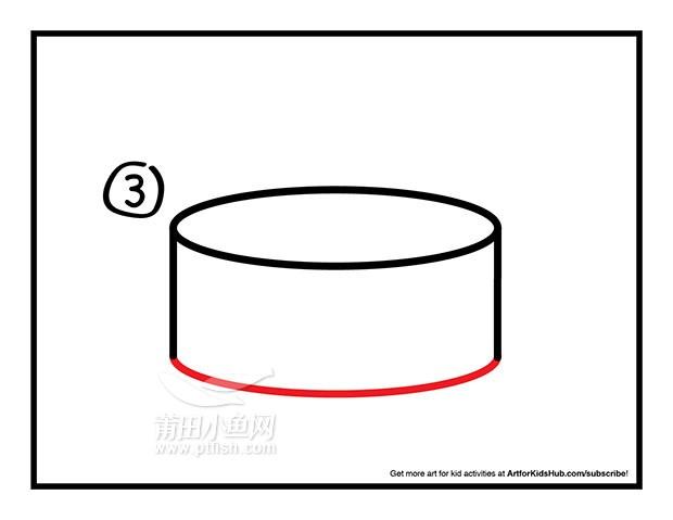 杯子简笔画矢量图