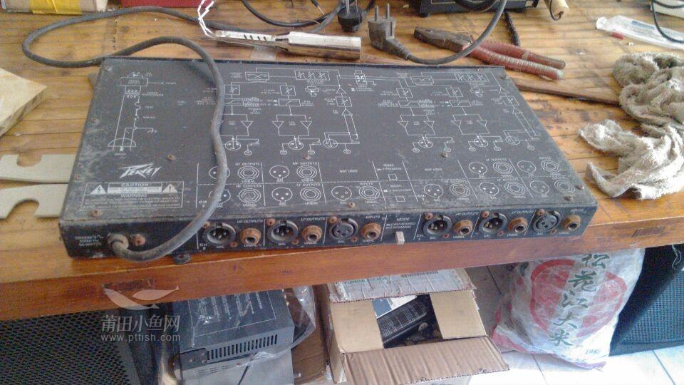出售一些个人闲置 百威分频器 jbl音箱 写真机 覆膜机