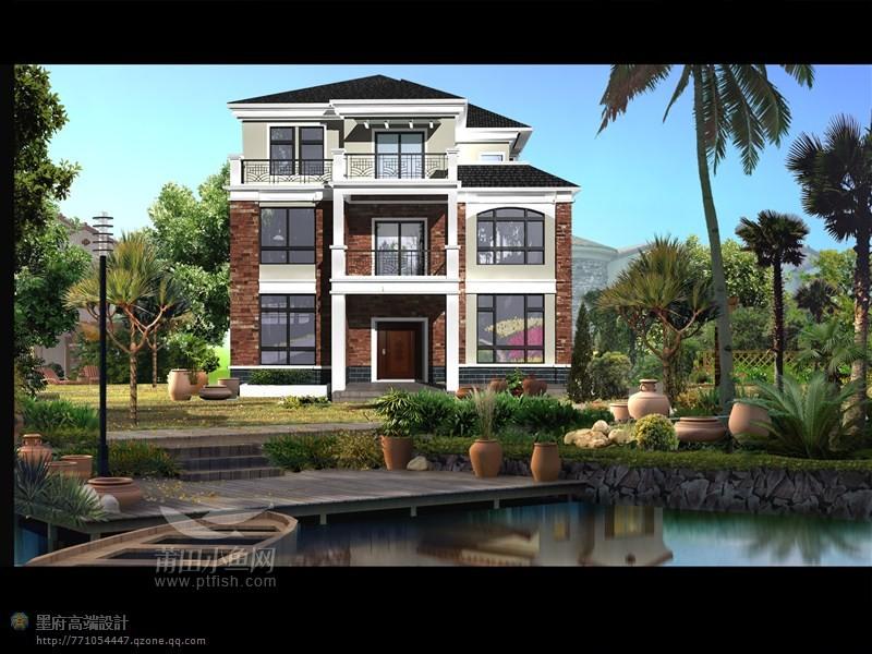 买房子不如盖房子,部分农村别墅设计作品欣赏(欢迎)