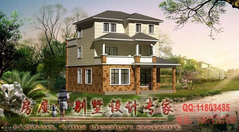 买房子不如盖房子 部分农村别墅设计作品欣赏 欢迎参考交流