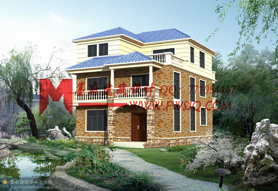买房子不如盖房子,部分农村别墅设计作品欣赏(欢迎参考交流)