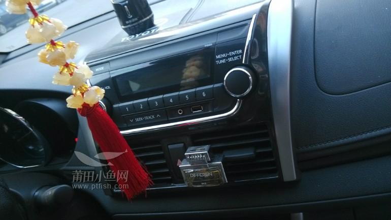 莆田汽车改装 丰田14款新威驰安装导航 倒车影像 行车记录仪高清图片