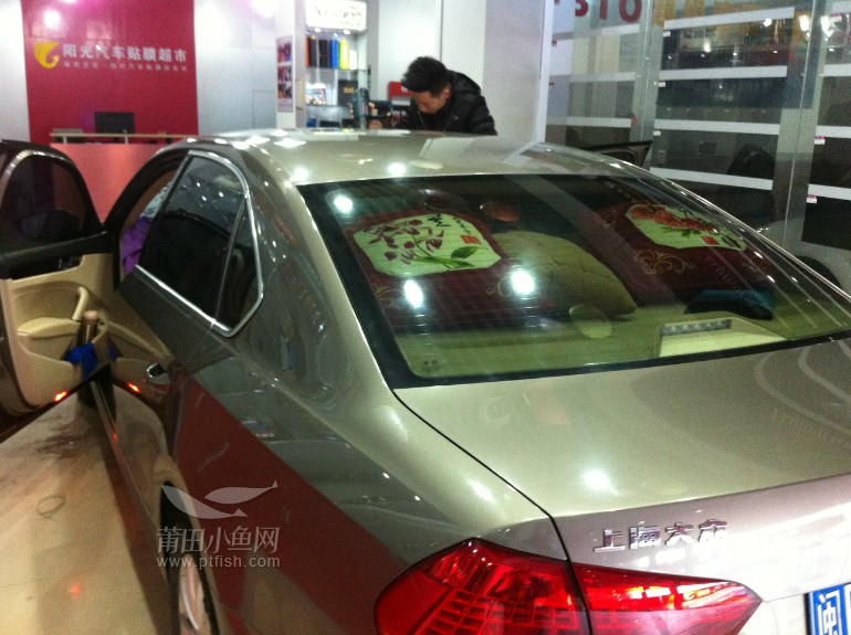 【阳光汽车贴膜超市】大众帕萨特全车贴膜