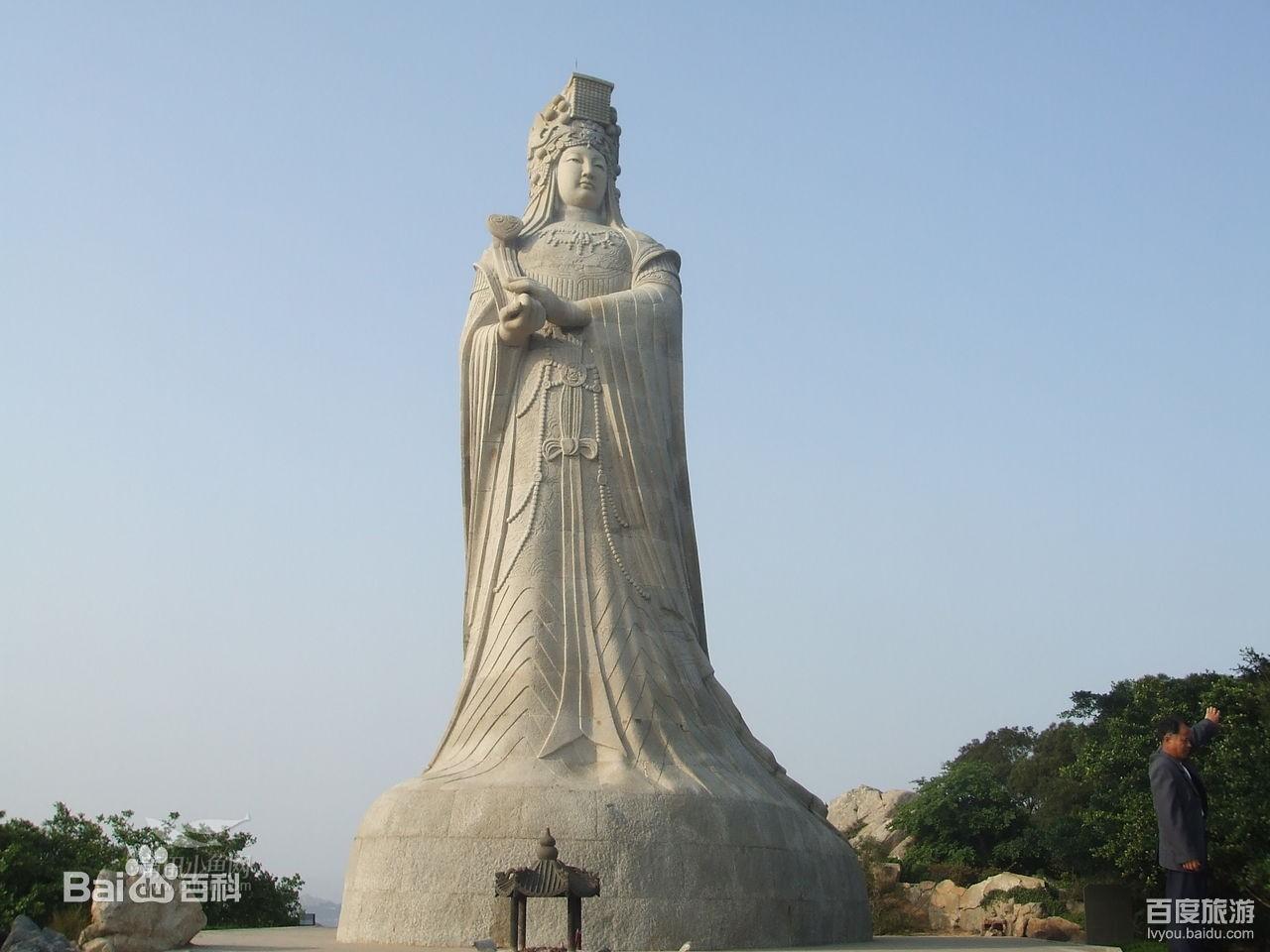 我相信大部分人跟我一样,去湄洲岛主要是为了拜妈祖,看美景,求平安.