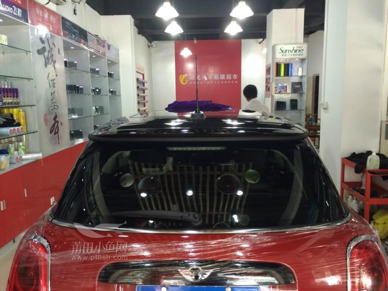宝马mini全车贴威固顶级隔热膜 v70 v40 高清图片