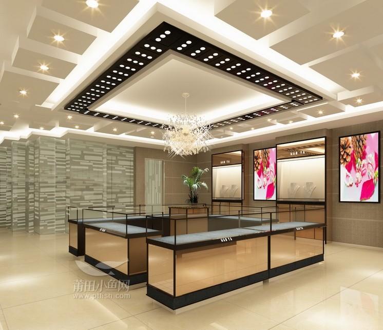 珠宝店装修设计图 雅阁苑装饰 专业承接店面装修设计 商家
