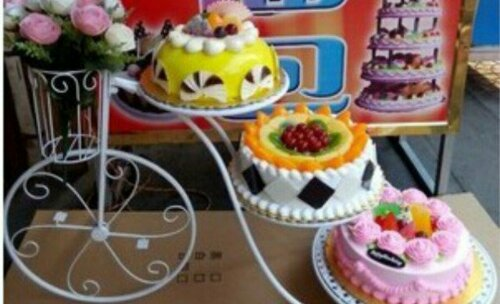 自行车蛋糕,生日聚会,婚礼蛋糕大气
