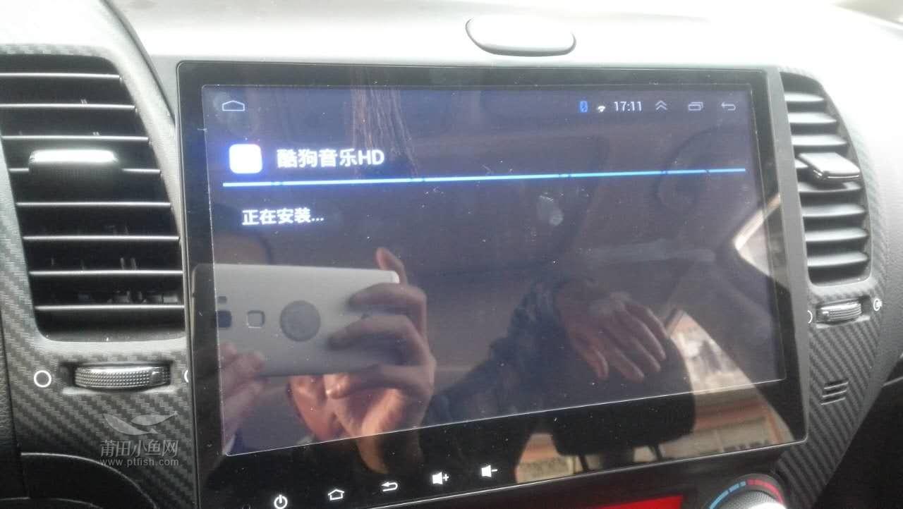 【起亚k3安装格仕汽车大屏安卓导航电子狗记录仪】《精工汽车》秀屿