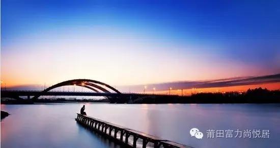 莆田大桥头风景