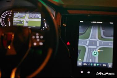 上汽荣威RX5搭载马云 亲儿子 YunOS系统亮相 车闻车市高清图片
