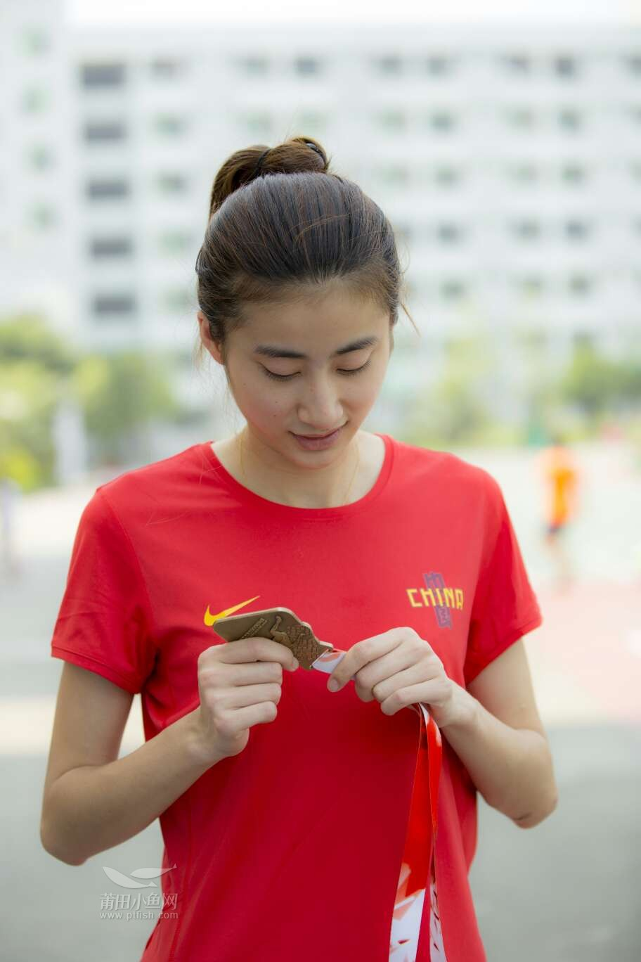 三级跳陈婷_热烈欢迎荣获得2016年世界青年田径锦标赛女子三级跳远冠军陈婷(莆田