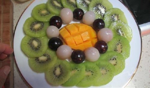 我家宝宝的水果拼盘