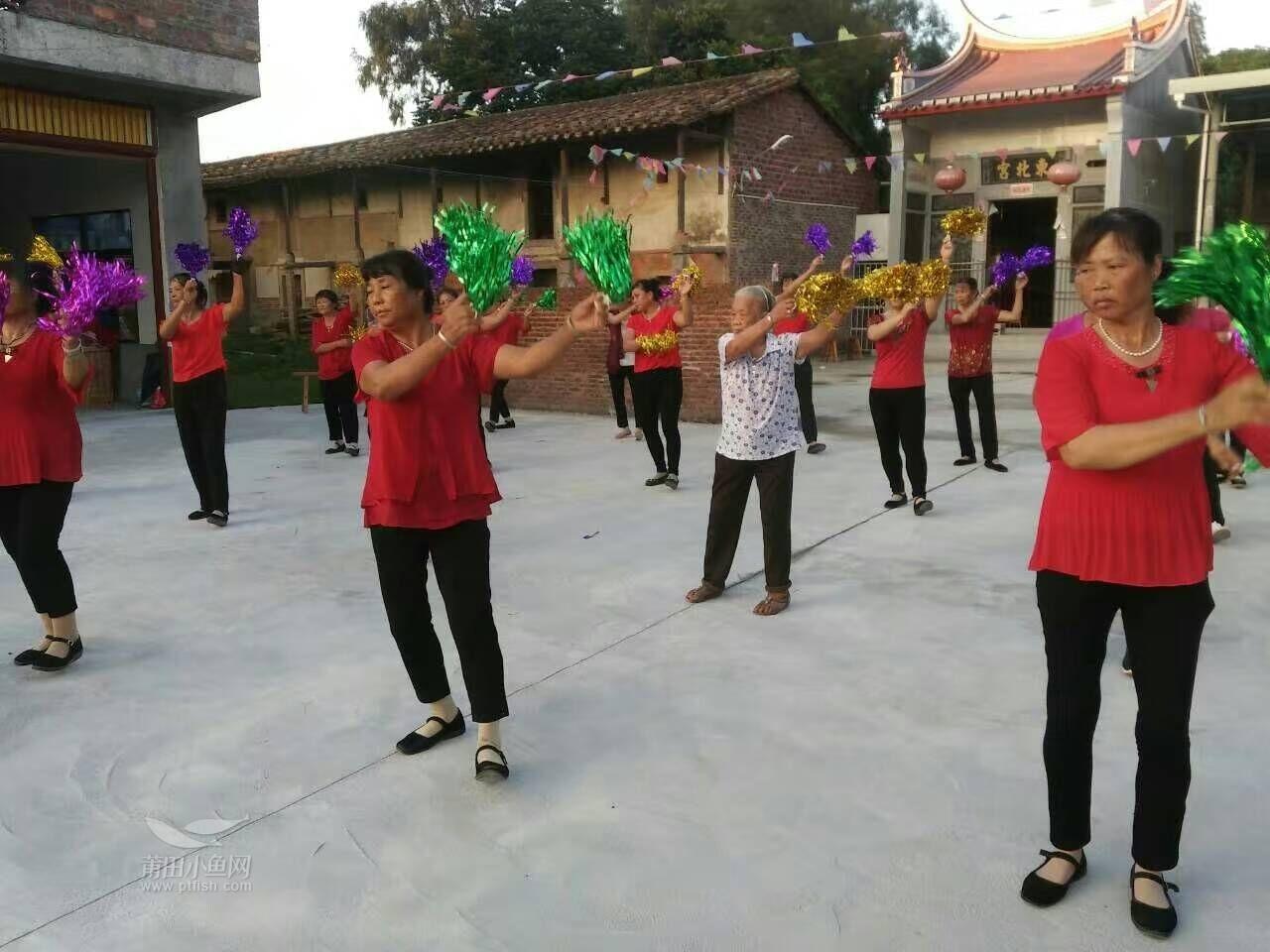 莆田86岁老奶奶跳广场舞.