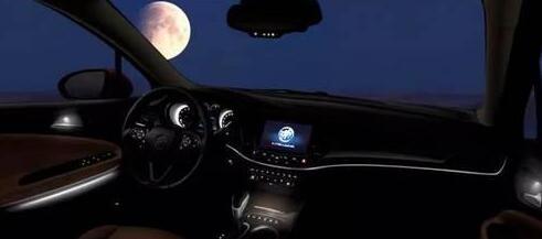 晚上开车照片别克