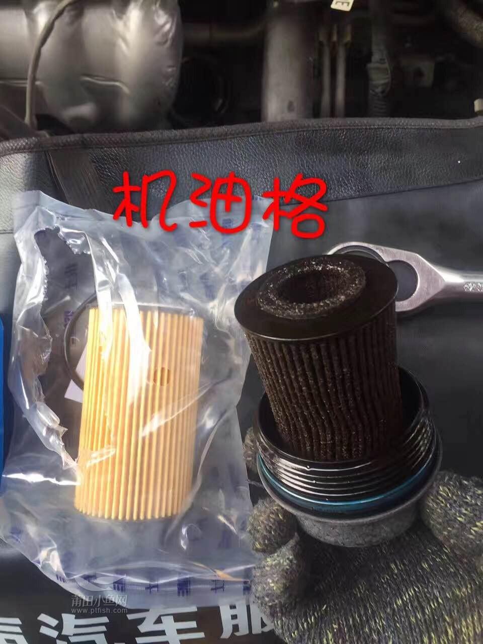 佛兰科鲁兹更换机油 机油格 清洗发动机高清图片
