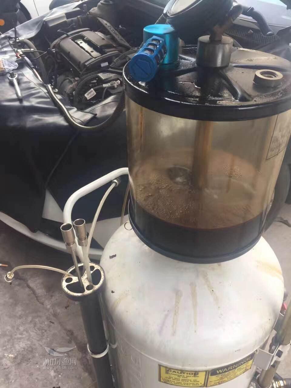 雪佛兰科鲁兹更换机油 机油格 清洗发动机【金声汽车服务】