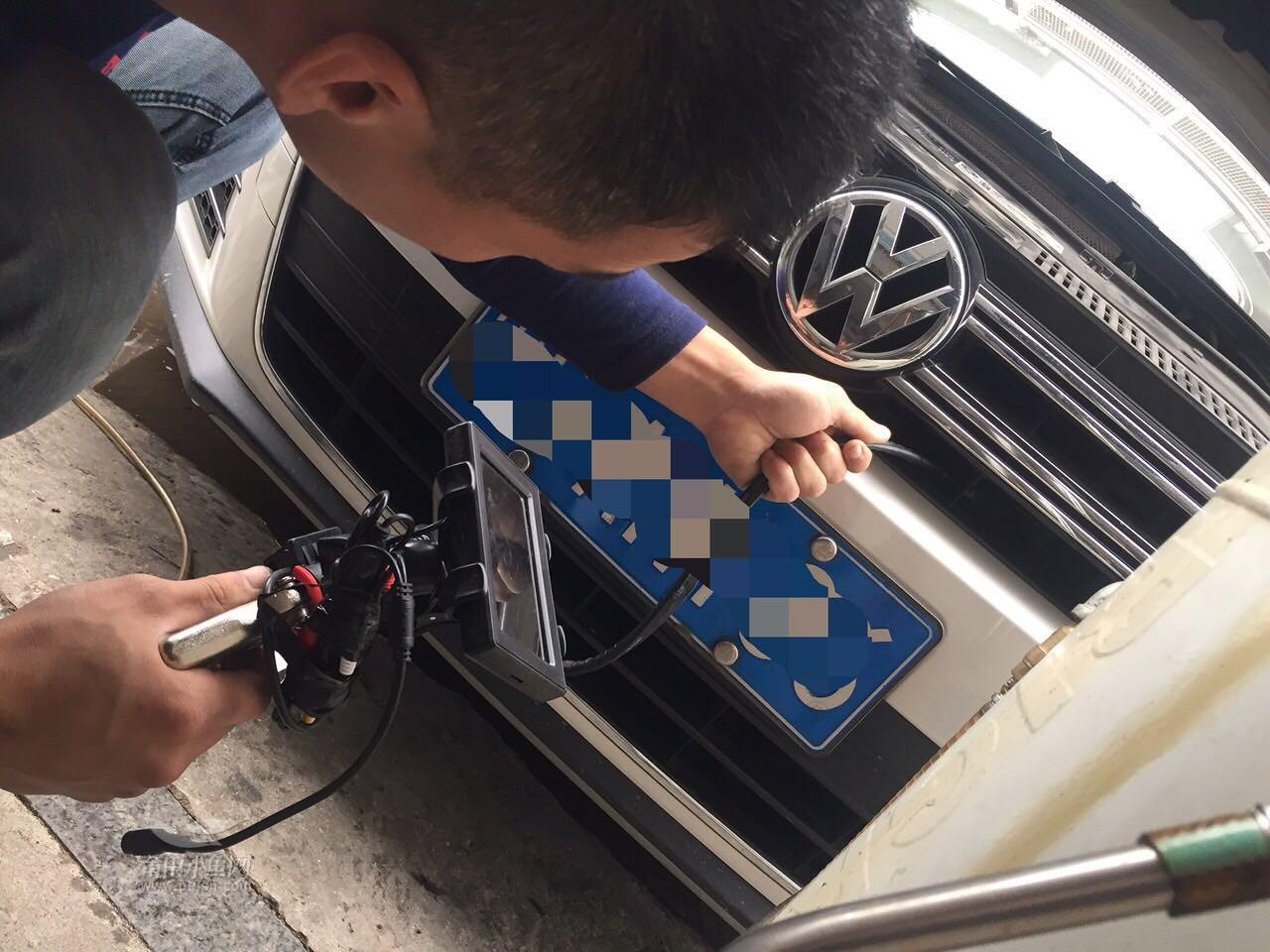 大众途观更换机油 机油格 空气格 空调格 清洗空调管道 清洗发动机