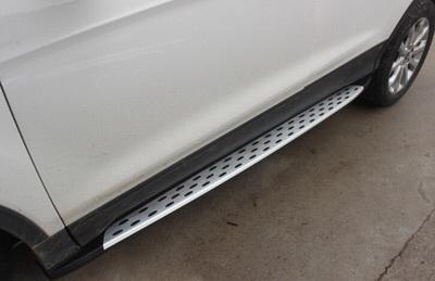 莆田汽车改装 福特翼虎加装脚踏板高清图片