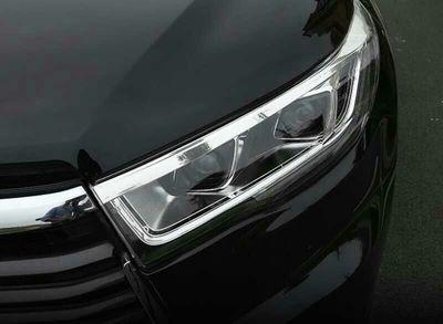 莆田汽车改装 汉兰达改装LED大灯总成高清图片