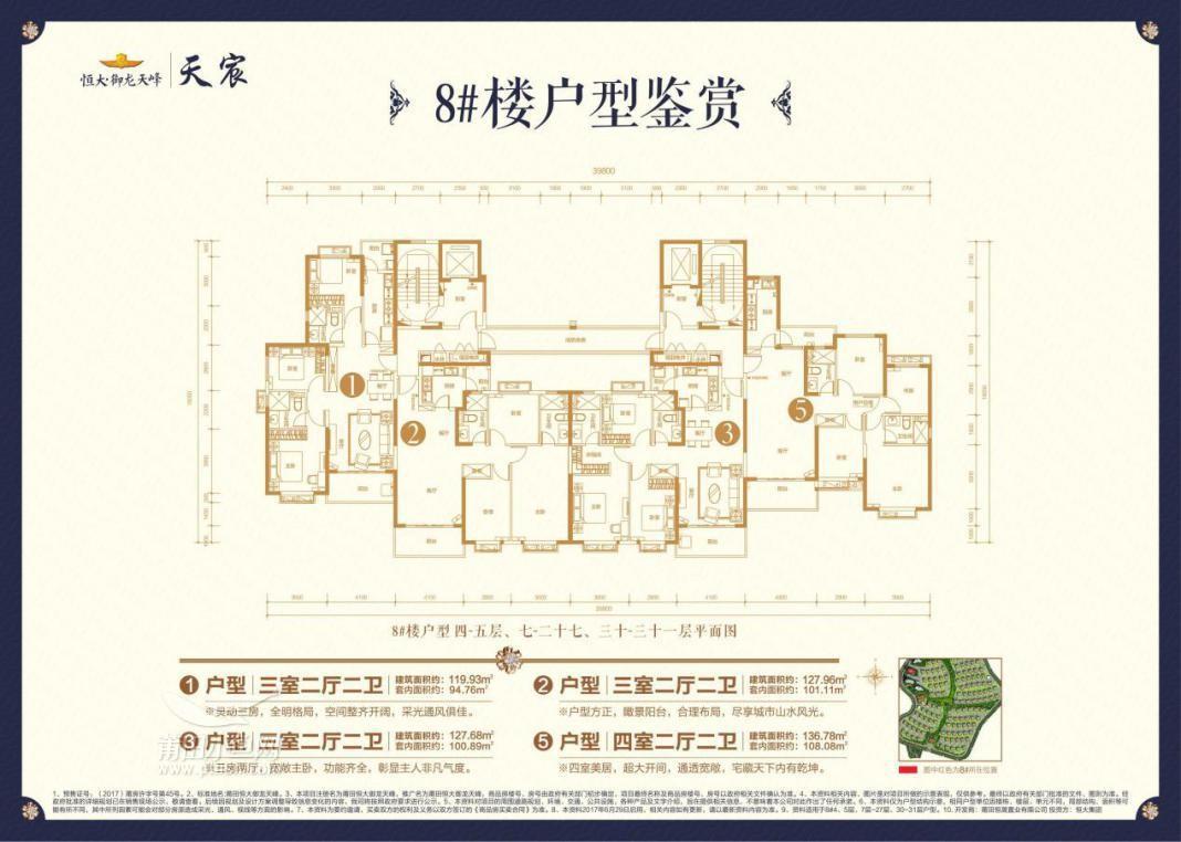 8#楼结构分布图