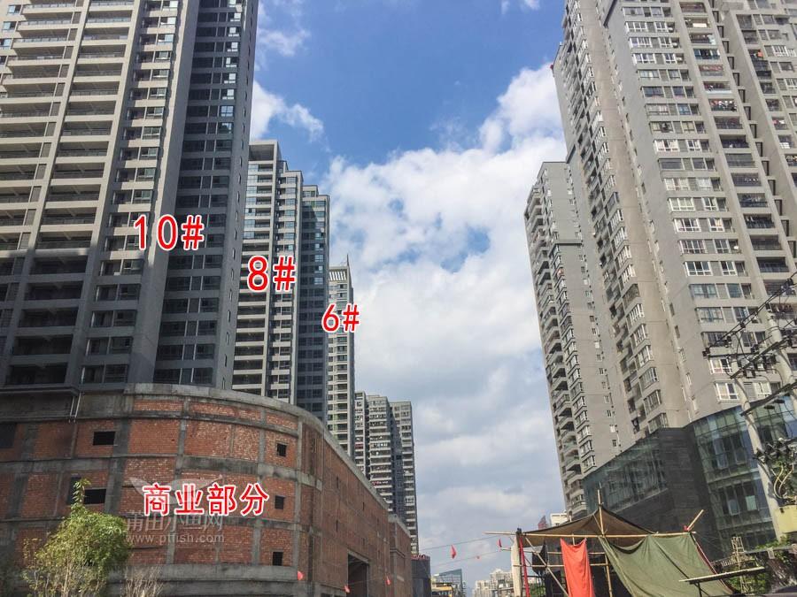 阳光100凤凰广场 工程进度图